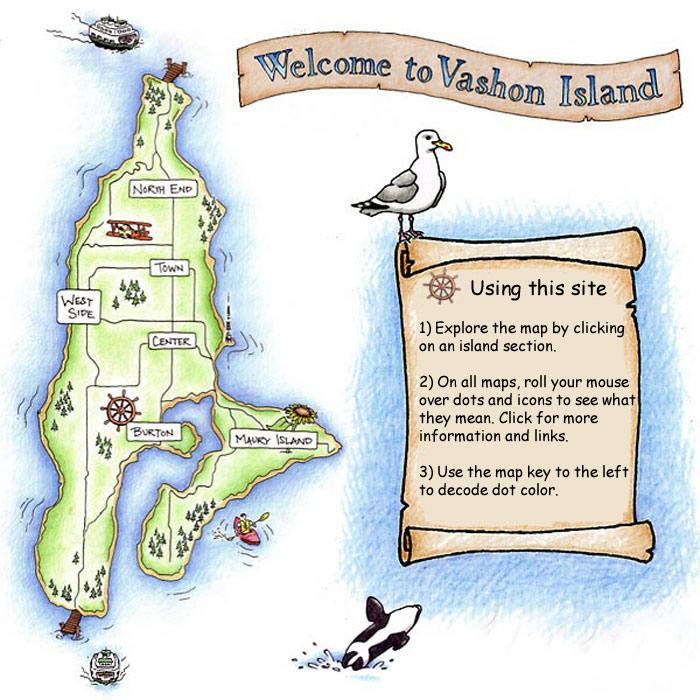 Bildergebnis für Vashon Island in Spring